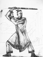 Daily Sketch - Master Sokka by J-CashMD