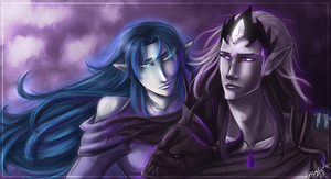The God of Life and Death and the Star by ElizaLento