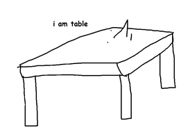 billy the table by cheese1234567891011