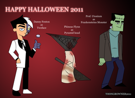 ToonsinHalloween costumes 2011 by toongrowner