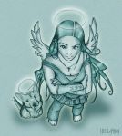 Guardian Angels by Hellatina