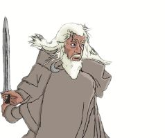 Gandalf the White by BlueExcelsior