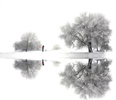 White winter peace by Chris-Lamprianidis