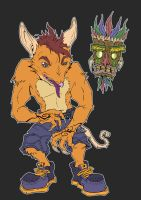 Crash Bandicoot by Cannibal-Cartoonist