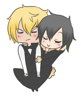 Shizaya -AT- by Erenii