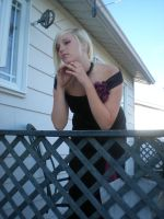 Lady rose at the balcony 17 by gsdark-stock