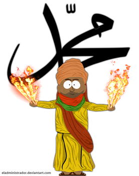 Everybody Draw Mohammed Day-A South Park'd Prophet by hercamiam