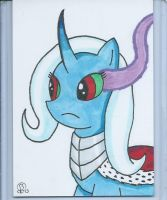 Trixie, Bride of Sombra sketch card by BlueWolf-2020