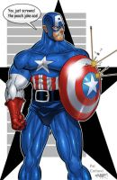 Captain America - BIG mistake by PatCarlucci