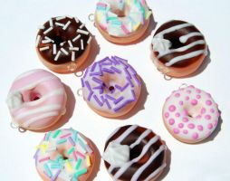 Doughnut Charms by KawaiiCulture