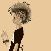 mohawkish afro oO by Riksor