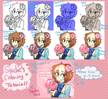 Syachie's Coloring Tutorial! by Syachie