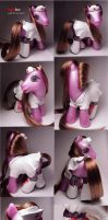 Naughty Nurse pony custom by Woosie