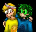 Felix and Waru by Kristophe4