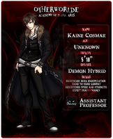 OW: Kaine Cosmar, Your Nightmare by BlueBlueFox