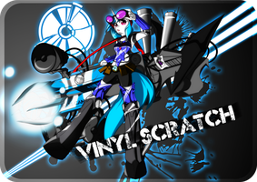 VINYL SCRATCH - BASS CANNON by kaiomutaru25