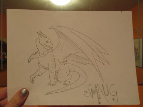 Smaug by Potterhead-Whovian