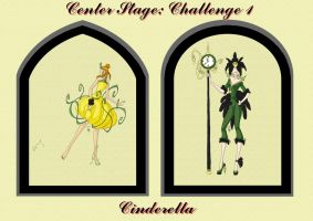 Center Stage: Challenge 1 by sunshishi