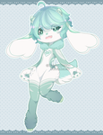 Set Price :: Mint Blue Bumbie [ OPEN ] by Devi-Adopts