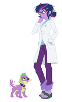 scientist twilight sparkle by Ta-Na