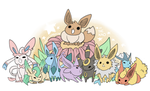Eevee Evolutions by TheK40