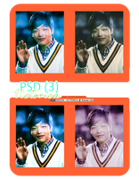 PSD Coloring 4 [2012] #3 (I Miss you). by victoricaDES