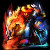 Fire-Ice Swampert by Yilx