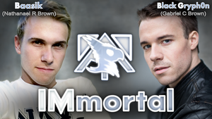 IMmortal - Now on iTunes! by BlackGryph0n