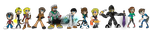 Tome Fan Sprites....SO CUTE! by BillyBCreationz