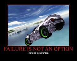 Failure Motivational Poster by QuantumInnovator