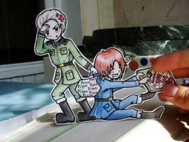 Germany+Italy -  paper Child by Annuhka