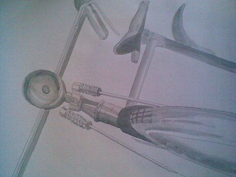 old bicycle by findra