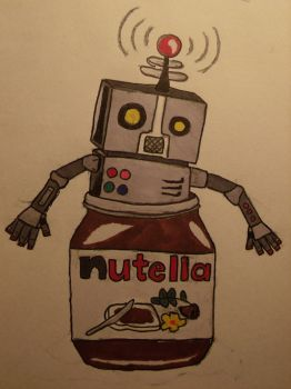 The Robot In My Nutella by RobotsLoveNutella
