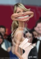 Cameron Diaz by manohead