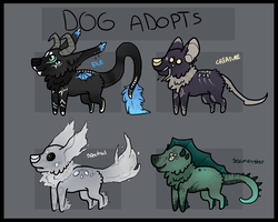 Dog Adopts by S-L-U-G-S
