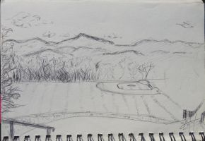 Hills and Fields by ShanBrath