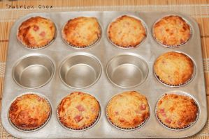 Ham and cheese muffin 3 by patchow