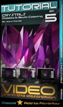 how to paint Crystals Tutorial by JesusAConde