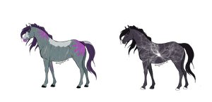 Horse adoptable's by Awaiting-Destiny