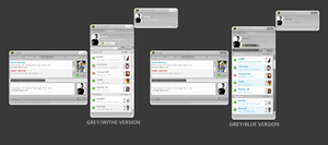 grey icq 6 style 1.0 by jN89