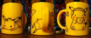 pikachu mug by antichange