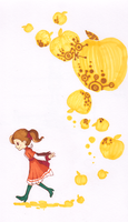 Flora Reinhold-Gold apple by lazyhare
