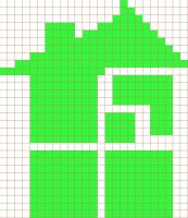 Homestuck Logo Cross Stitch Pattern by moonprincessluna