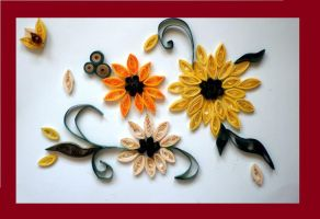 Quilling - Hand made Card by Rajlakshmi