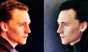 Loki vs Tom by GrimSister