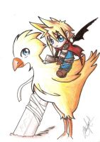 This is my chocobo by Shoujoneko