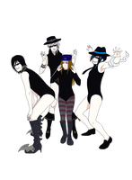 :CL: ALL THE SINGLE LADIES by Inupii