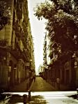 Streets of Barcelona - 5 by Aluvian