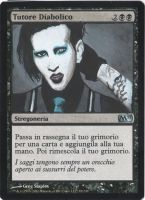 Diabolic Tutor - Marilyn Manson by AlteRedSynne