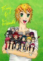 Finny and Friends by Astaryael